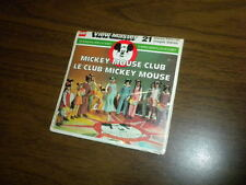 MICKEY MOUSE CLUB 1977 CANADA DISNEY (H9C) Viewmaster 3 reels PACKET SET sealed
