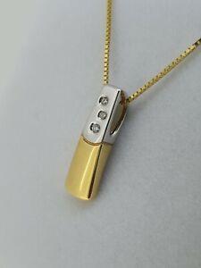 18ct Gold Diamond Pendant 84500