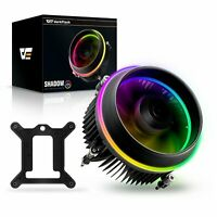 darkFlash PWM PC CPU Cooler LED Motherboard Control Fan for Intel Core i7 i5 i3