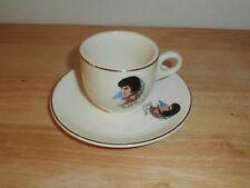 Vtg Rare Unique  Elvis Presley Expresso Coffee Cup & Saucer Made in USA
