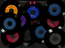 Set 10 45 RPM 7'' Vinyls Records Mixed Variety 1950's Perry Como Three Suns