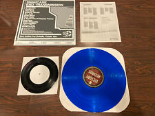 "Snapcase End Transmission vinyl record limited edition Blue + bonus 7"" VG / VG+"