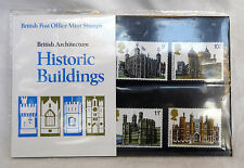 British Post Office Mint Stamps - British Architecture Historic Buildings