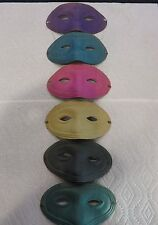 Lot of 6 Vintage Occupied Japan Colored Party Mask Lone Ranger