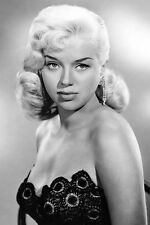 Diana Dors Bareshouldered In Busty Costume Femme Fatale Look 11x17 Mini Poster