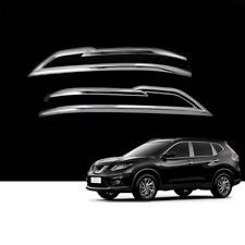2Pcs Car Rearview Mirror Decor Chrome Trim For Nissan Qashqai J11 2nd 2014-2017