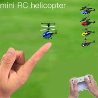 Mini Nano Remote Control RC Radio Helicopter Gift Toys for Kids Micro Drone 2CH