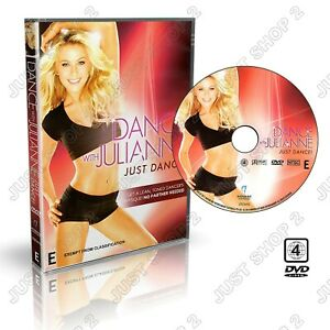 Exercise DVD : Just Dance Cardio Workout Tone Abs Legs Butt Arms : Brand New
