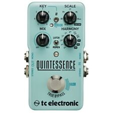 TC Electronic Quintessence Harmonizer True Bypass Guitar Effects Pedal