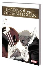 Deadpool vs Old Man Logan TP - Marvel Mutant X-Men Wolverine Wade Wilson