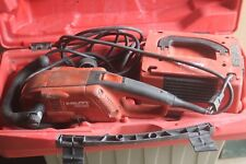 Hilti Dg150 Grinder With Case And Diamond Blade