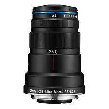 Venus Optics Laowa 25mm f/2.8 2.5-5X Ultra-Macro Lens (Sony FE Mount)