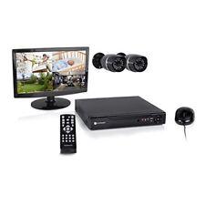 Smartwares Kit de surveillance filaire avec enregistreu