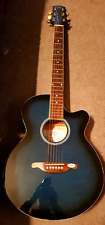 SX Custom Semi Acoustic Electric Guitar - Cut Away Vintage in A1 Condition