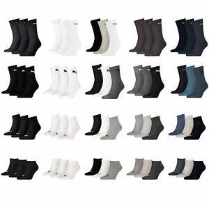 Puma Socken 6 9 12 18 Paar Sneakersocken Quarter Tennissocken kurze Socken