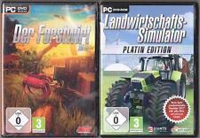 Landwirtschafts Simulator 2011 Platin + Der Forstwirt 2015 Traktoren Kräne PC