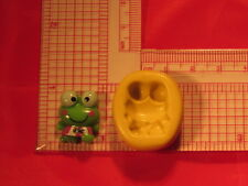 KeroKero Keroppi Frog Silicone Push Mold A807 For Craft Fondant Resin Topper