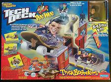 Tech Deck PeeWee Deckhouse Challenge Playset Big Guy Ray NIB Playmates Board
