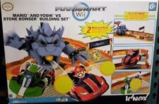 Mario & Yoshi vs Stone Bowser Building Set NIB GR8 DEAL FOR BIRTHDAY/EASTER GIFT