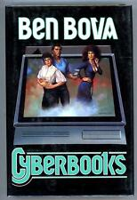 Cyberbooks by Ben Bova (Signed, First Edition)- High Grade