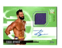 WWE Zack Ryder 2017 Topps Undisputed Green Autograph Relic Card SN 12 of 25
