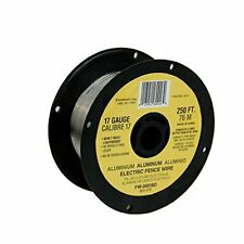 Electric Fence Wire Spool 250 Ft 17 Gauge Spool Aluminum Wire