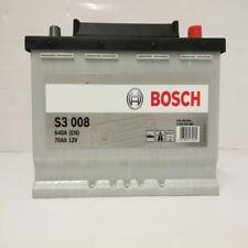 BOSCH 570409064 S3008 612252 096 70Ah 640 CCA Car Battery
