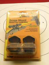 Ironsighter See-Thru Scope Mount-Model 330 T/C Renegade,T/C 54 Cal Hawkin