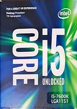 Intel Desktop CPU lga1151 Box ☛ KABY Lake i5-7600k ☛ Warranty 3 years ✔