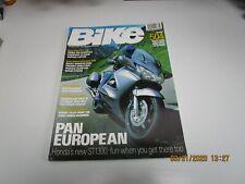 Bike Magazine UK Aug 2002 - Ducati Monster 620ie - Triumph Speed Four