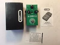AMT Electronics ME-1 M-Drive JFet Overdrive FX Series Rare Guitar Effect Pedal