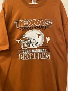 Vintage NFL Texas Longhorns 2005 National Champions