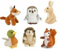 1 X Living Nature Wildlife Mini Buddies Soft Toys Plush Cuddle Kids Children Xma