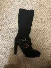 MICHAEL KORS ALLISTER STRETCH BOOT PATENT LEATHER  BOOT NWB 8
