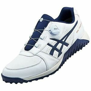 ASICS Golf Shoes GEL-PRESHOT BOA Soft Spike Wide 1113A003 White US10(28cm)UK9