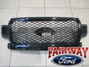 18 thru 20 F-150 OEM Genuine Ford UM Agate & Black Honeycomb Grille Grill