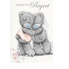 ME TO YOU WEDDING REGRET CARD TATTY TEDDY BEAR NEW GIFT