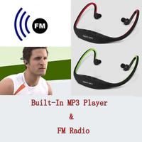 Radio Headphone  Headphones  FM  Earphones  Player  Card  MP3  TF  Headset