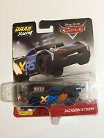 "Disney/Pixar~Cars~""Jackson Storm""~Drag Racing~XRS~Moving Pistons~2019~Brand New"