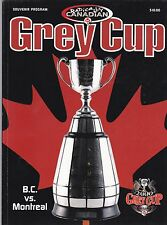 2000 CFL  GREY CUP PROGRAM,MONTREAL ALOUETTES--B.C.LIONS