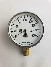 = Little John McDaniels Control INC Pressure Gauge 400PSI Lee Wang A741785