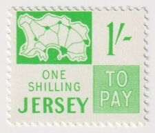 Mint 1969 Jersey - 1 Shilling Postage Due Stamp