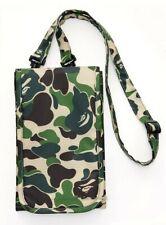 A Bathing Ape Bape Shoulder Bag 1st Camo Green Crossbody Bag Wallet Sling Purse