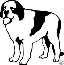 Saint Bernard Dog Vinyl Stickers / Decals