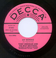 "THE BEATLES ""MY BONNIE / THE SAINTS"" ULTRA-RARE DECCA PROMOTIONAL PINK LABEL!"