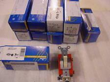 Leviton 1221-21 20 Amp 120/277V Sp Toggle Switch 10 New