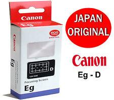 Genuine Canon Eg-D Interchangeable Focusing Screen x EOS 5D-Mark II & 6D Camera