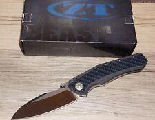 Zt-Zero Tolerance 0850 Sub-Frame Lock Knife Carbon Fiber Satin