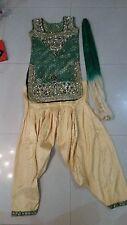 Ragazza 12-14 anni Abito Set 3 pezzi (Sarwal suit)