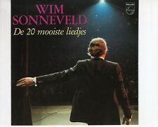 CD WIM SONNEVELDde 20 mooiste liedjesEX-  (B4608)